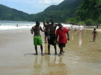 Trinis in Pose_Maracas Bay
